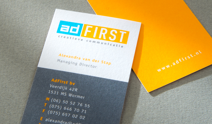Project: adFirst creatieve communicatie