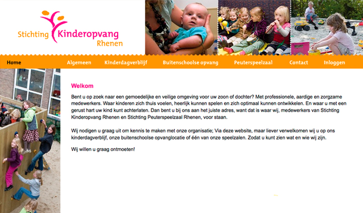 Project: Stichting Kinderopvang Rhenen
